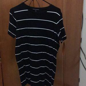 Brandy Melville Striped T-Shirt Dress